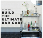 How To Bar Cart 2017